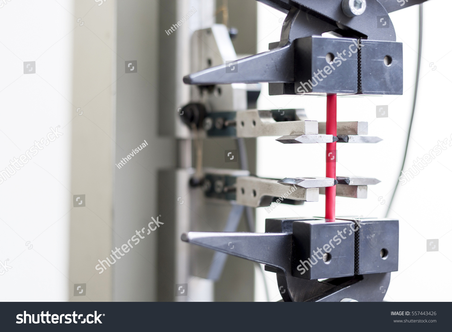 Close Shot Electrical Wire Tension Testing Stock Photo (Royalty Free ...