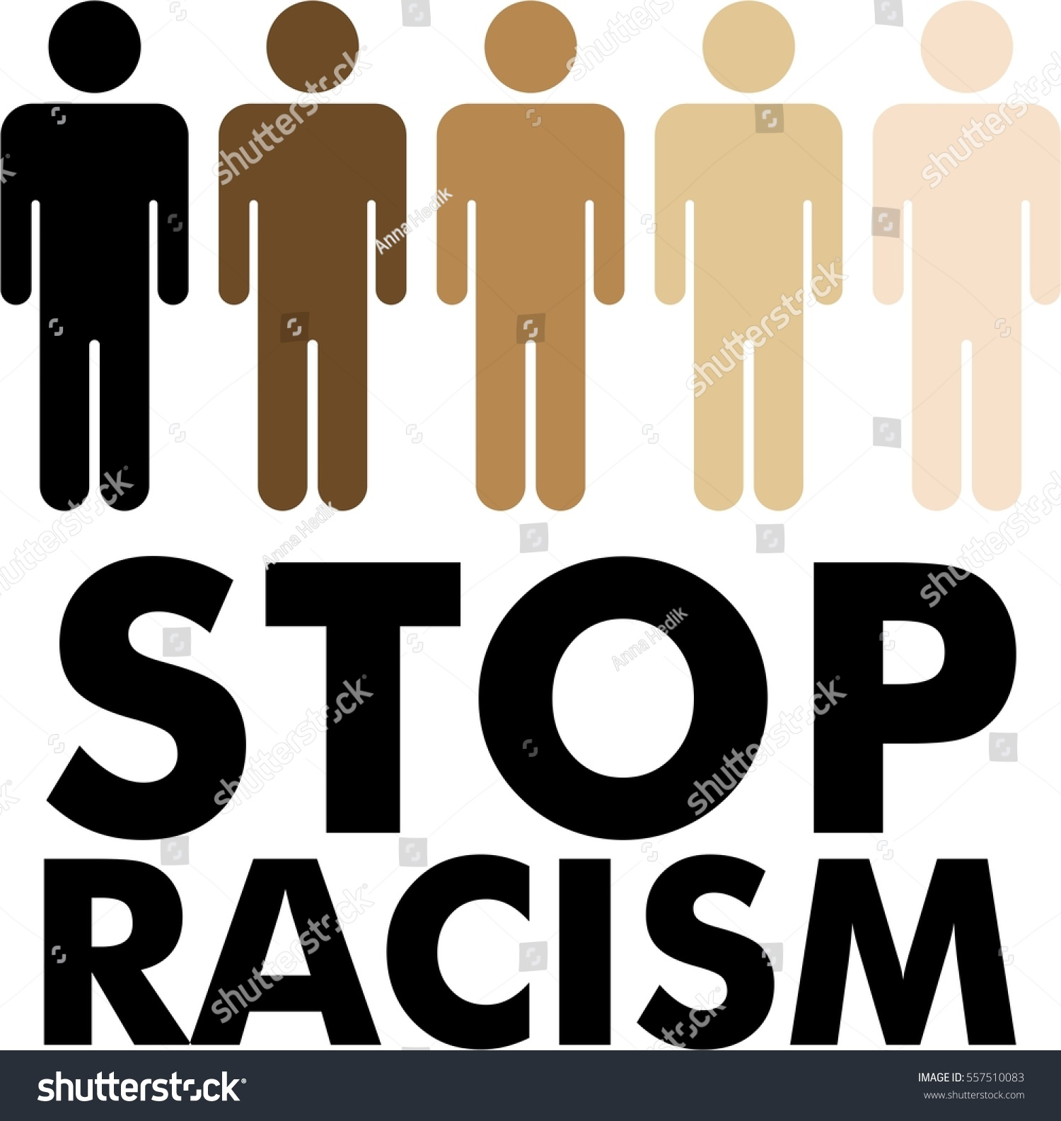 Stop racism skin colour human icon stock vector 557510083 stop racism skin colour in human icon symbol flat sign biocorpaavc Images