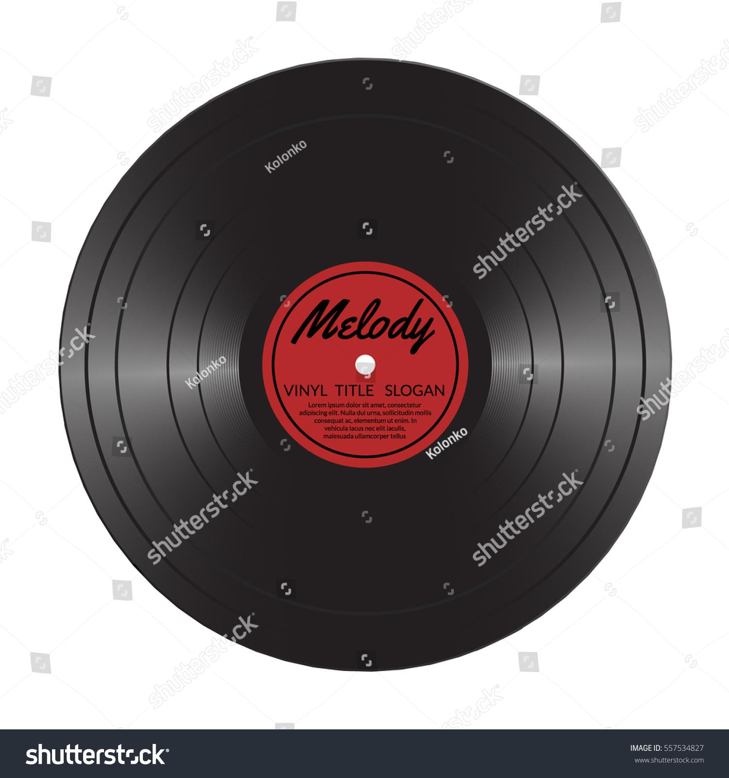 vinyl lp record disc black musical のベクター画像素材 ロイヤリティ