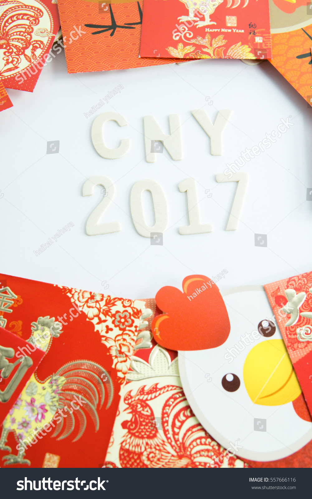 Chinese new year festival decorations red stock photo for Ang pow decoration
