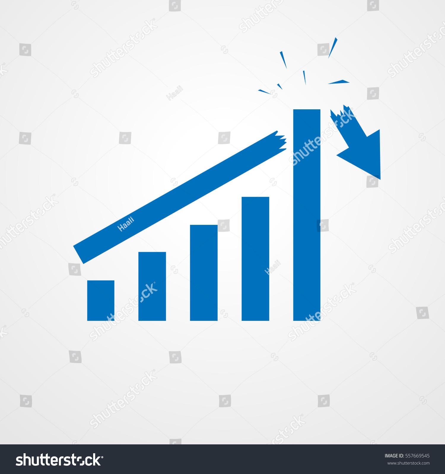 Growing bar graph icon rising arrow stock vector 557669545 growing bar graph icon with rising arrow financial forecast graph blue graph icon buycottarizona Gallery