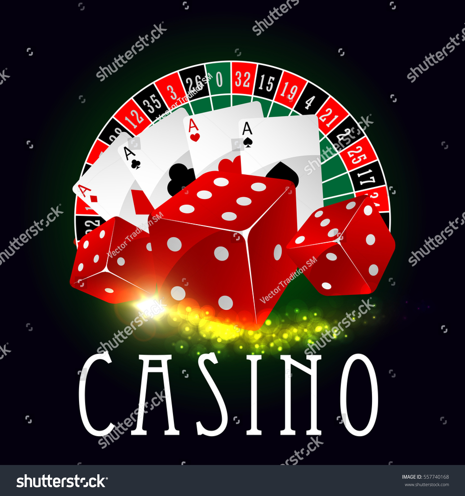 Casino poster suits