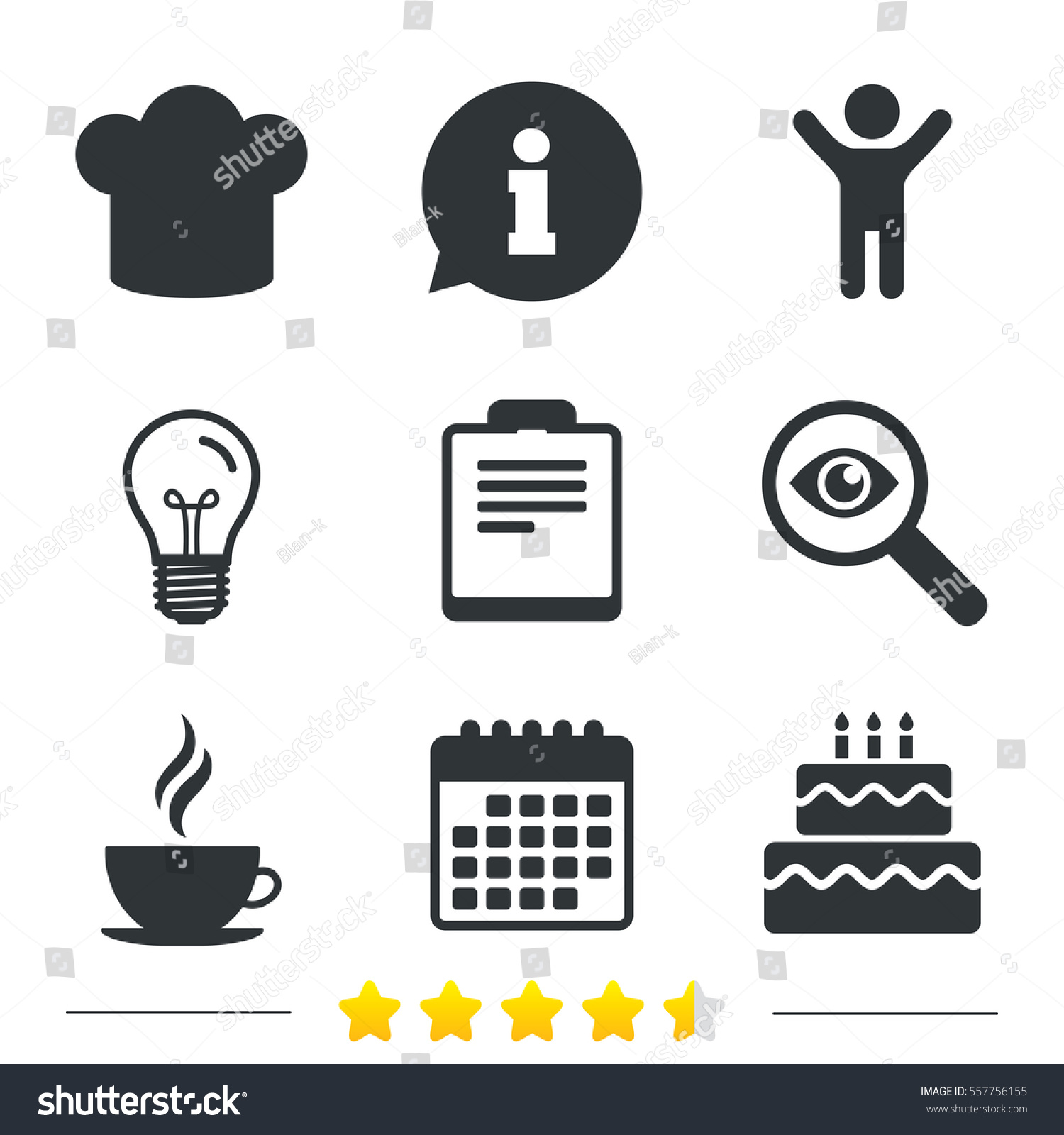 Birthday cake with keyboard symbols image collections symbol and coffee cup icon chef hat symbol stock vector 557756155 shutterstock chef hat symbol birthday cake signs biocorpaavc