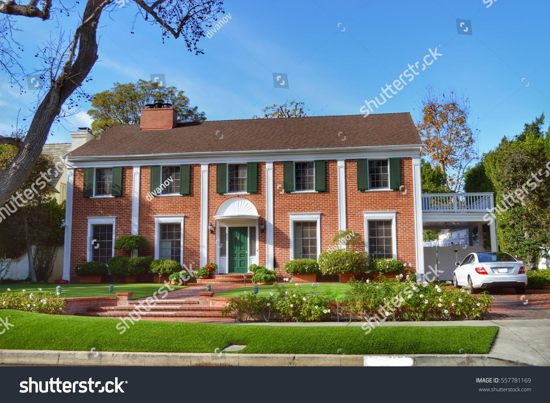 Luxury elegant houses westwood ca stock photo 557781169 for Elegant luxury homes