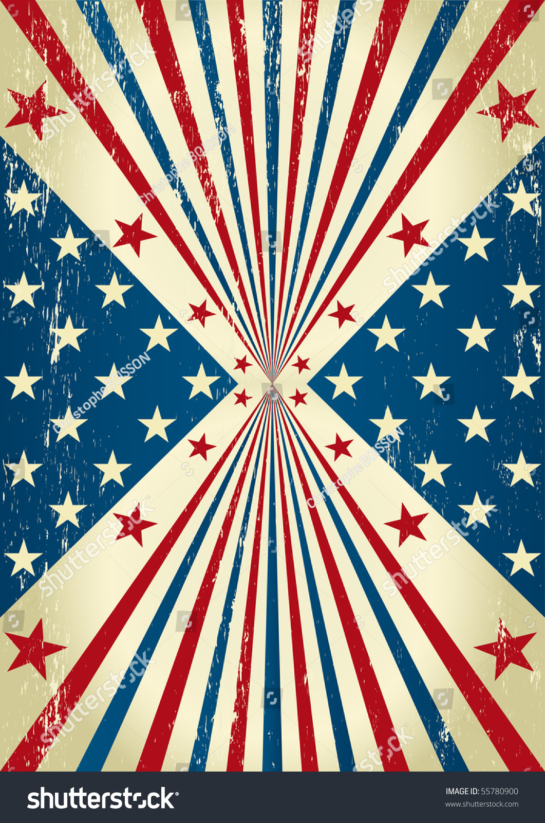 Nice Flag American Flag Background Posters Stock-Vektorgrafik ...
