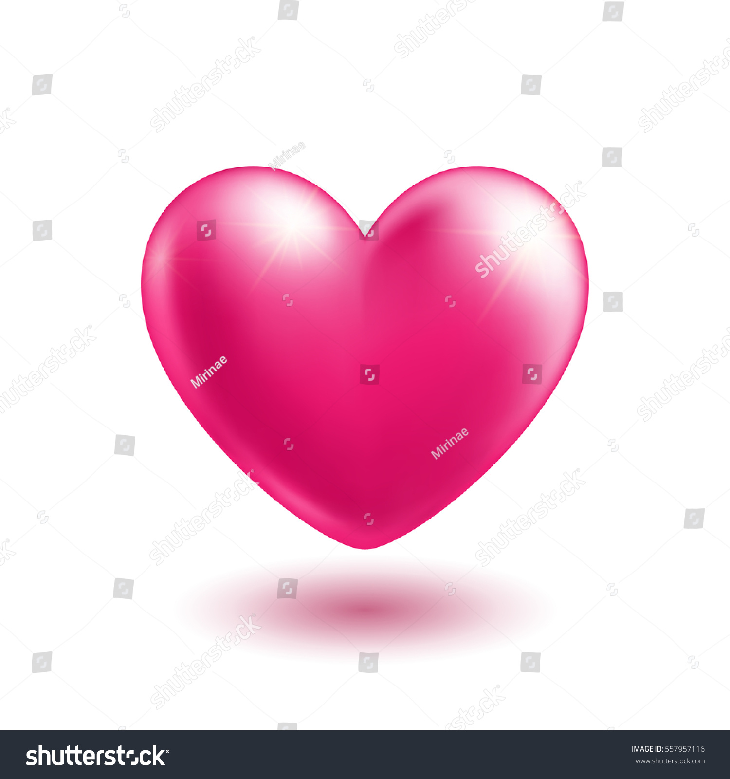 Big pink heart soft shadow love stock vector 557957116 shutterstock big pink heart with soft shadow love symbol realistic design isolated element on buycottarizona Image collections