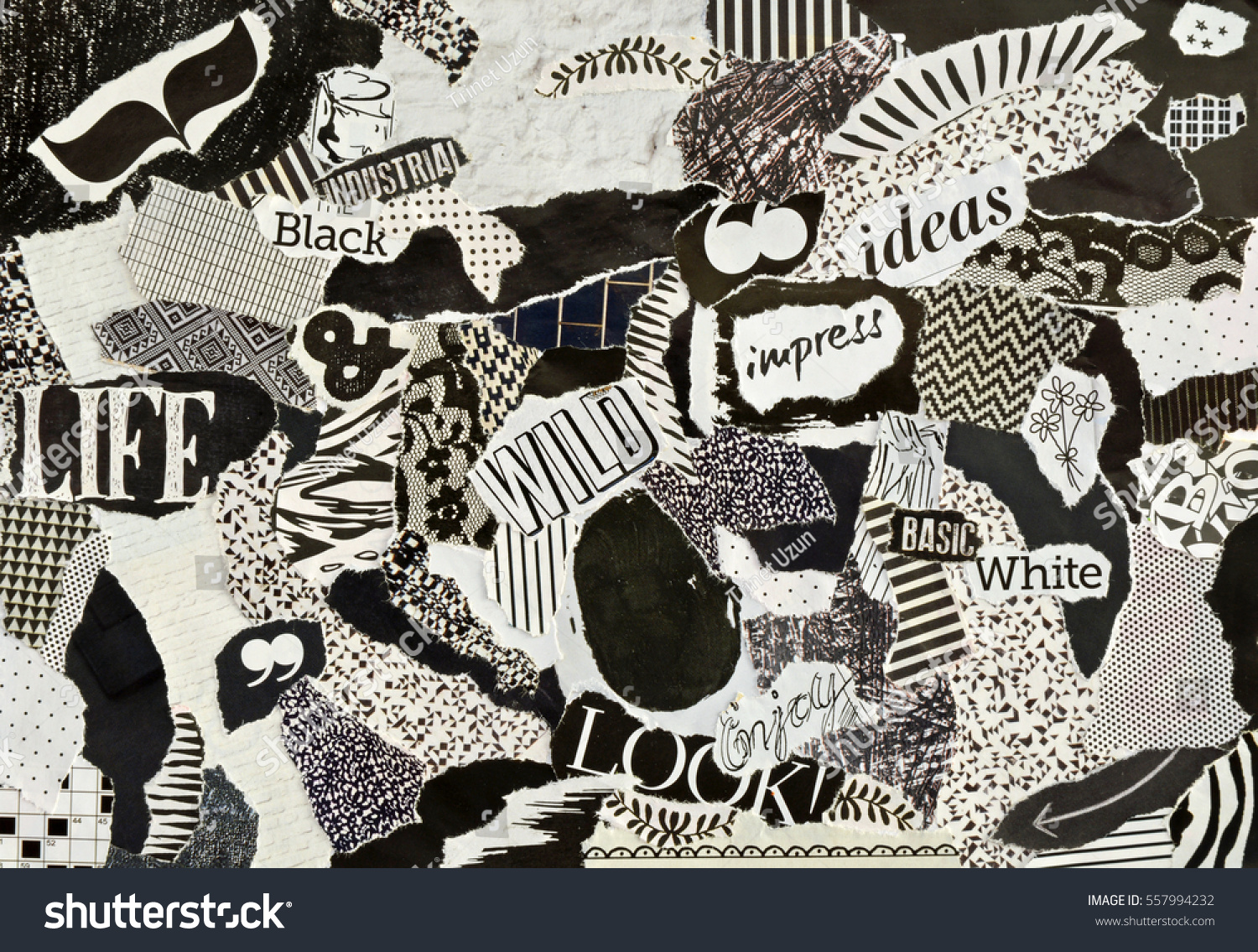 Creative atmosphere art mood board collage stock photo for Color collage ideas
