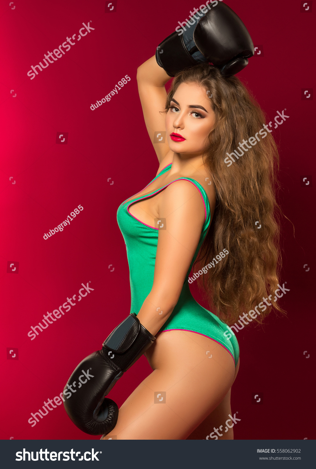 Boxing erotic womens