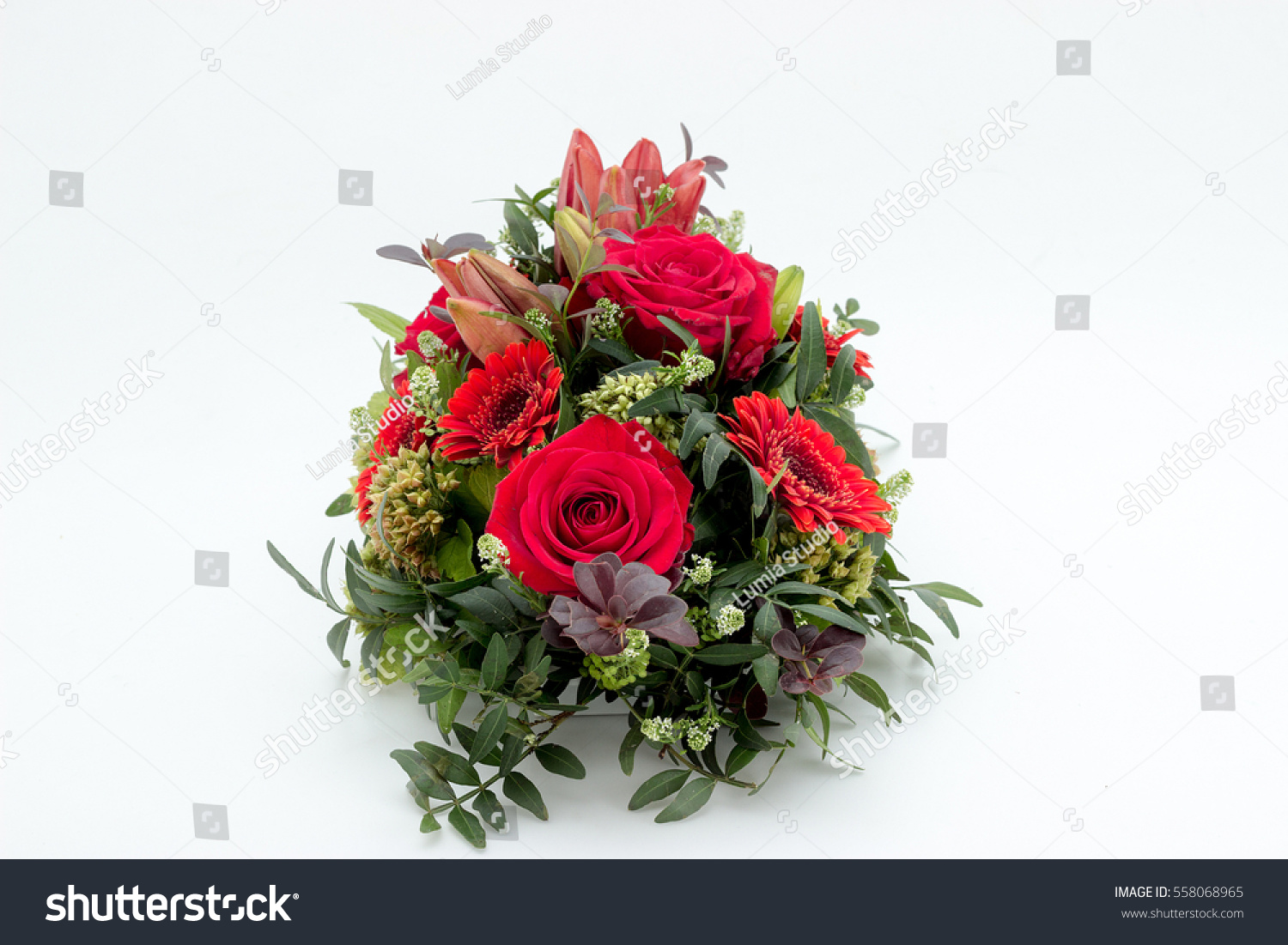 Funeral flower arrangement funeral isolated on stock photo royalty funeral flower arrangement for funeral isolated on a white background izmirmasajfo Gallery
