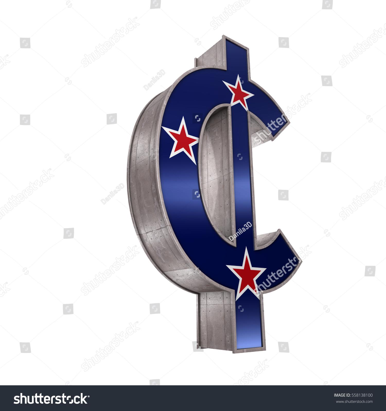 Golden Cent Symbol Isolated On White Background Stock ...  White Cent Sign