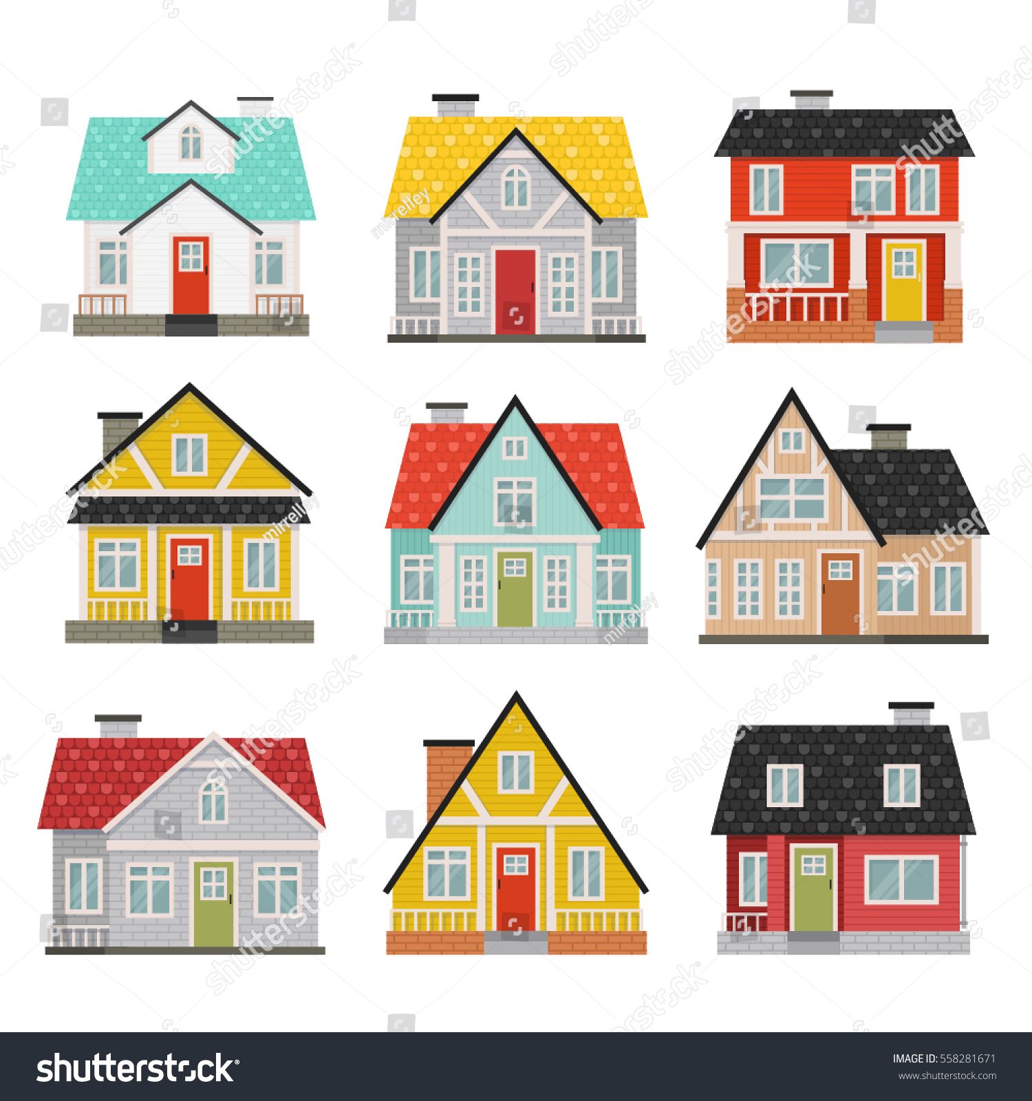 House cartoon simple images galleries for Big cute houses