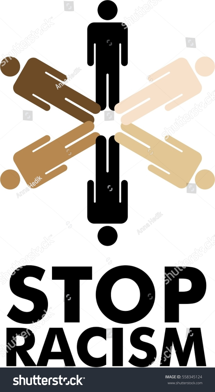 Stop racism icon flat sign symbol stock vector 558345124 stop racism icon flat sign symbol logo vector biocorpaavc Images