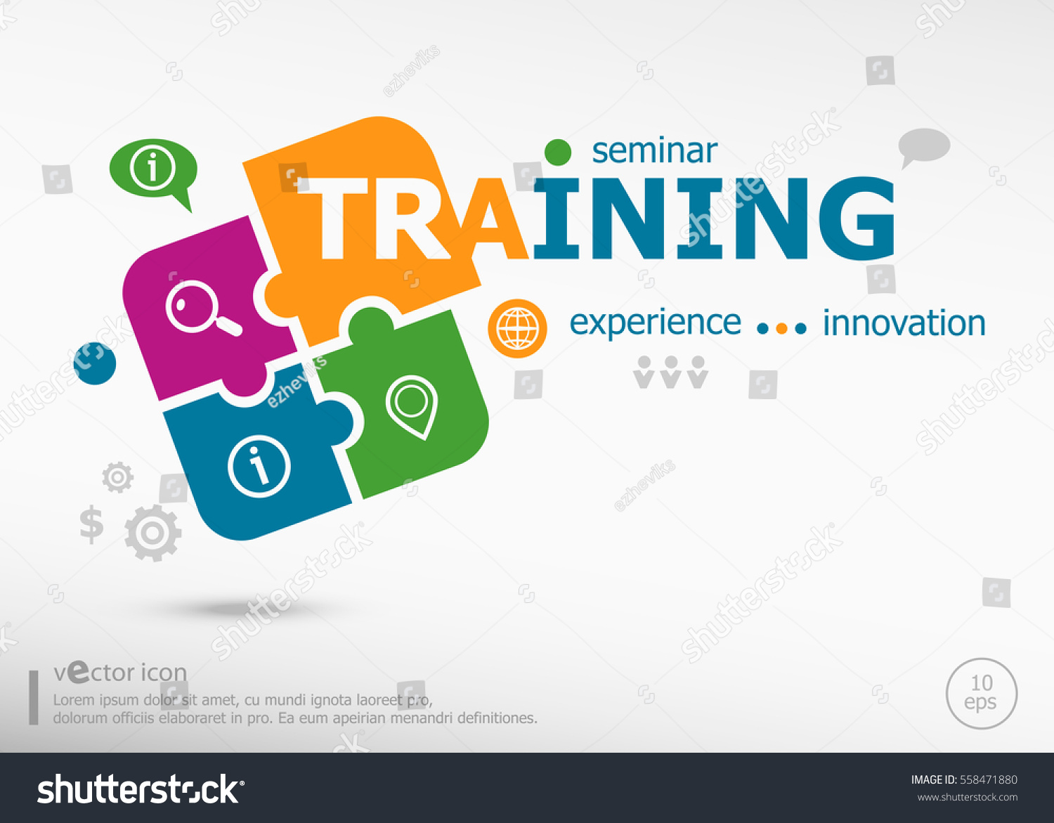 Jigsaw company lookup - Training Word Cloud Concept On Colorful Jigsaw Puzzle Infographic Business For Graphic Or Web Design