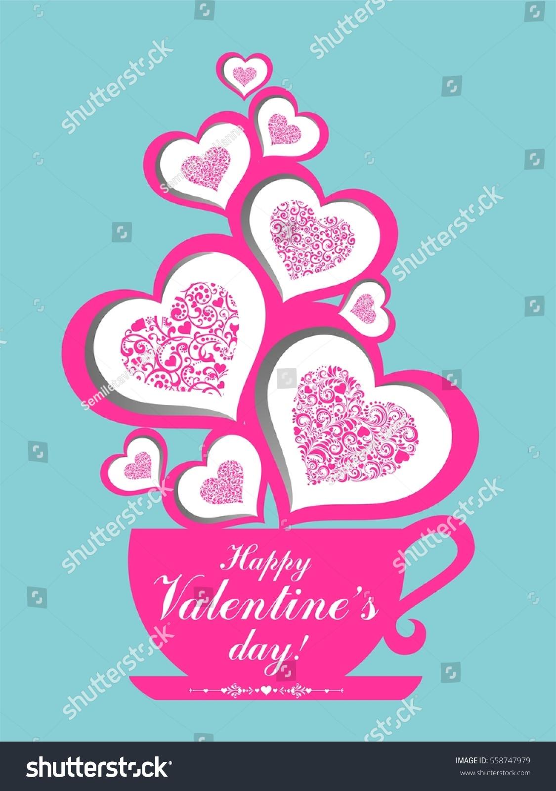 Happy valentines day greeting card restaurant stock vector 558747979 happy valentines day greeting card restaurant menu card design menu template on valentines kristyandbryce Choice Image