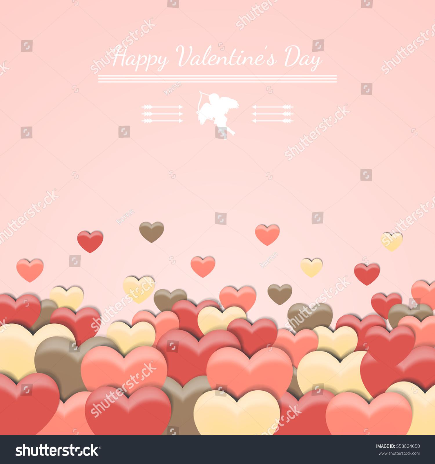 love happy valentines day pink background wallpaper card valentines day background wallpaper