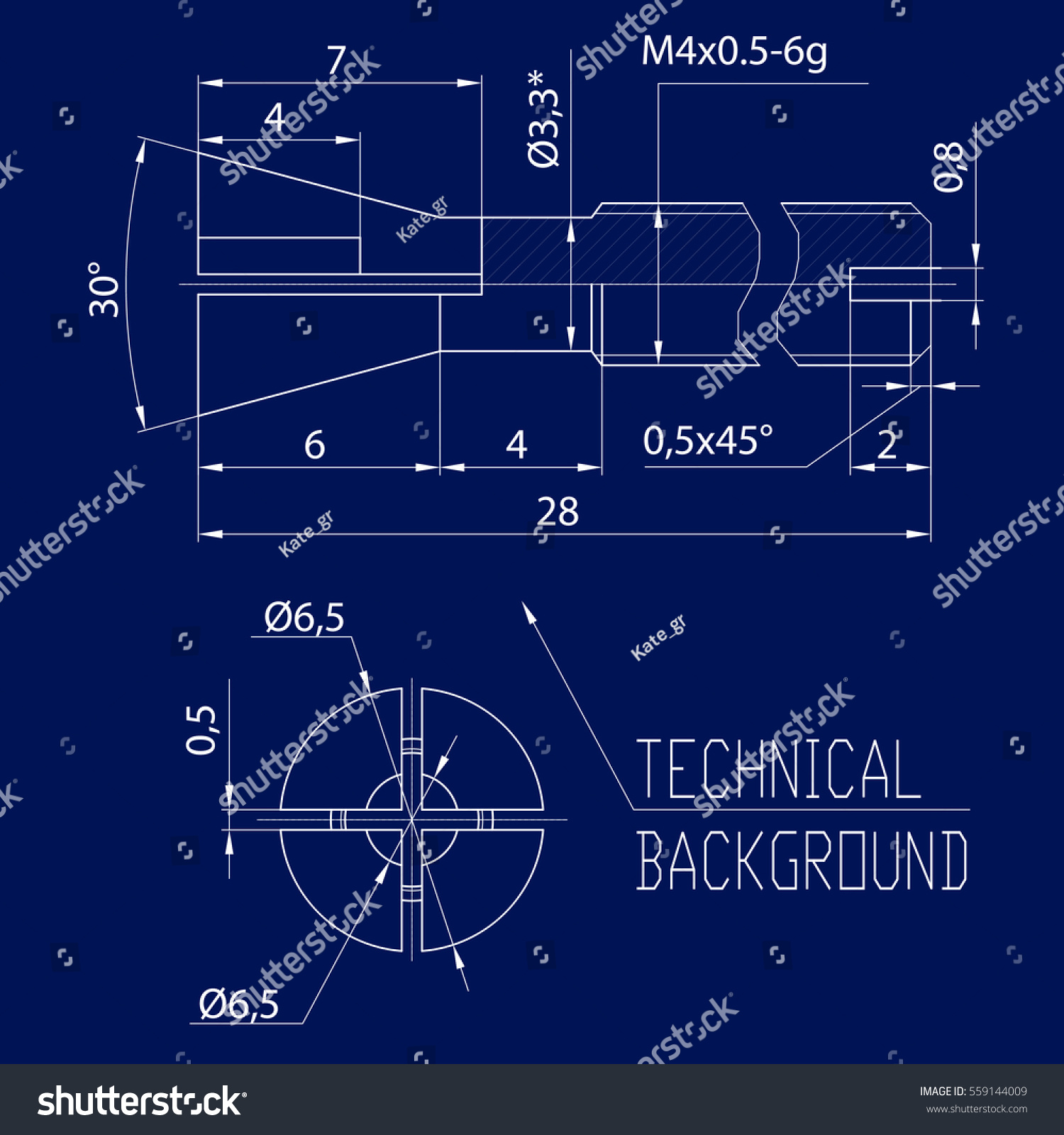 Engineering Drawing Modern Mechanics Blueprints Vector Stock Wallpaper Electric Guitar Plan Diagram Wallpapers Music Technology Background Blue Technological Design