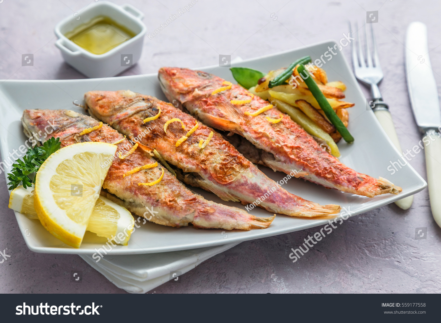 Fish mullet - a small delicacy