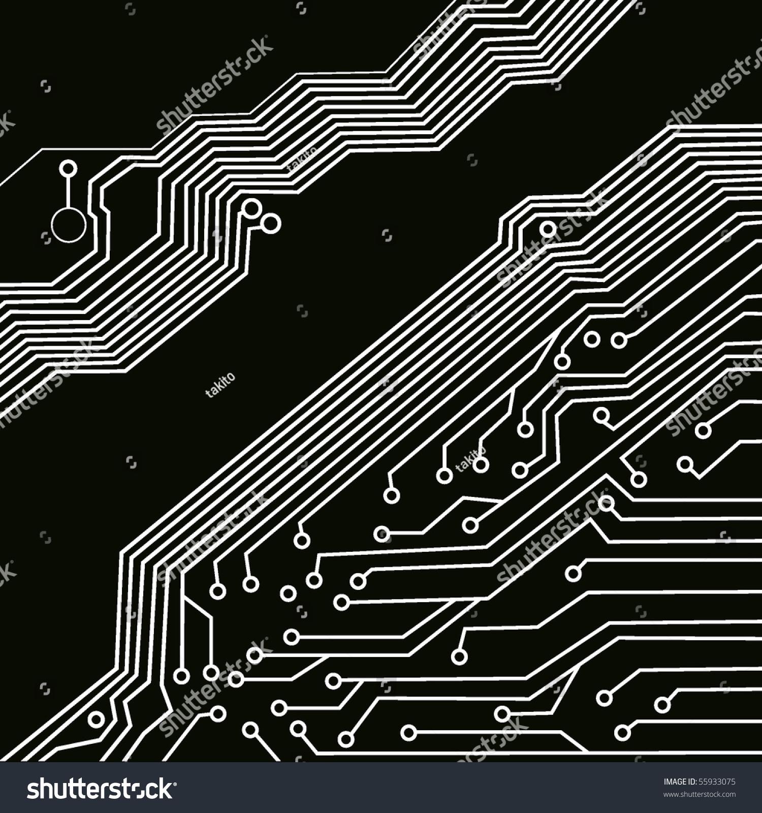 black circuit board wiring - photo #8