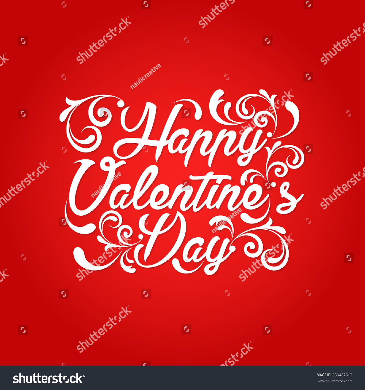 Modern Romantic Happy Valentine Card Suitable For Invitation Web