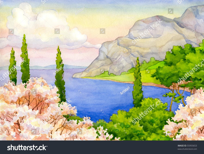 beach spring plant landscape - photo #29