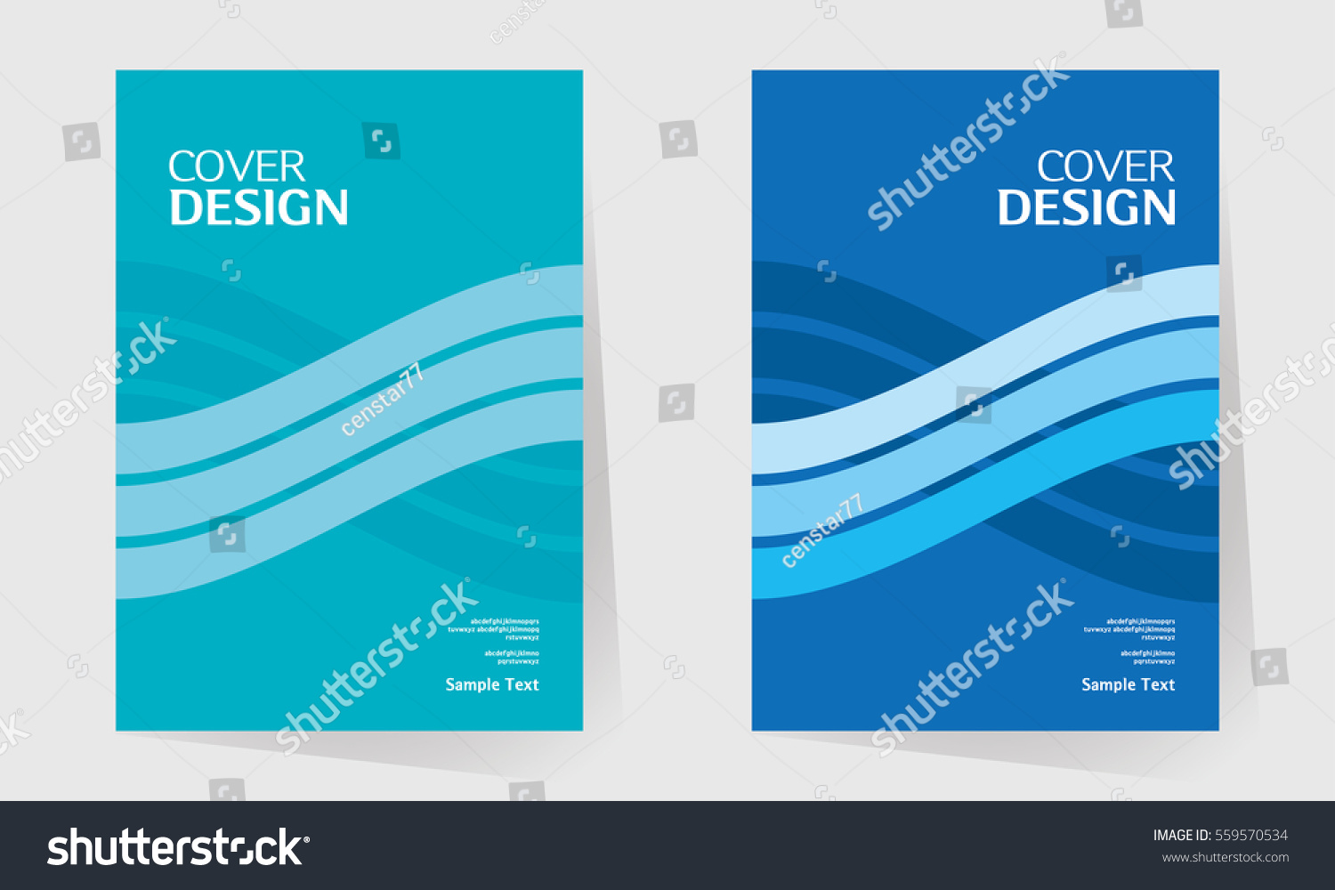 Simple Book Cover Design Template : Book cover design vector template a stock