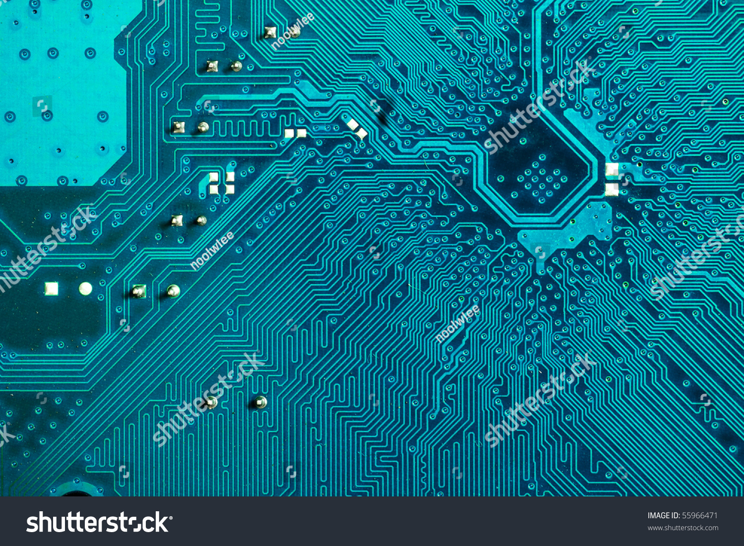 Circuit Board Change Colors You Like Stock Photo (Edit Now