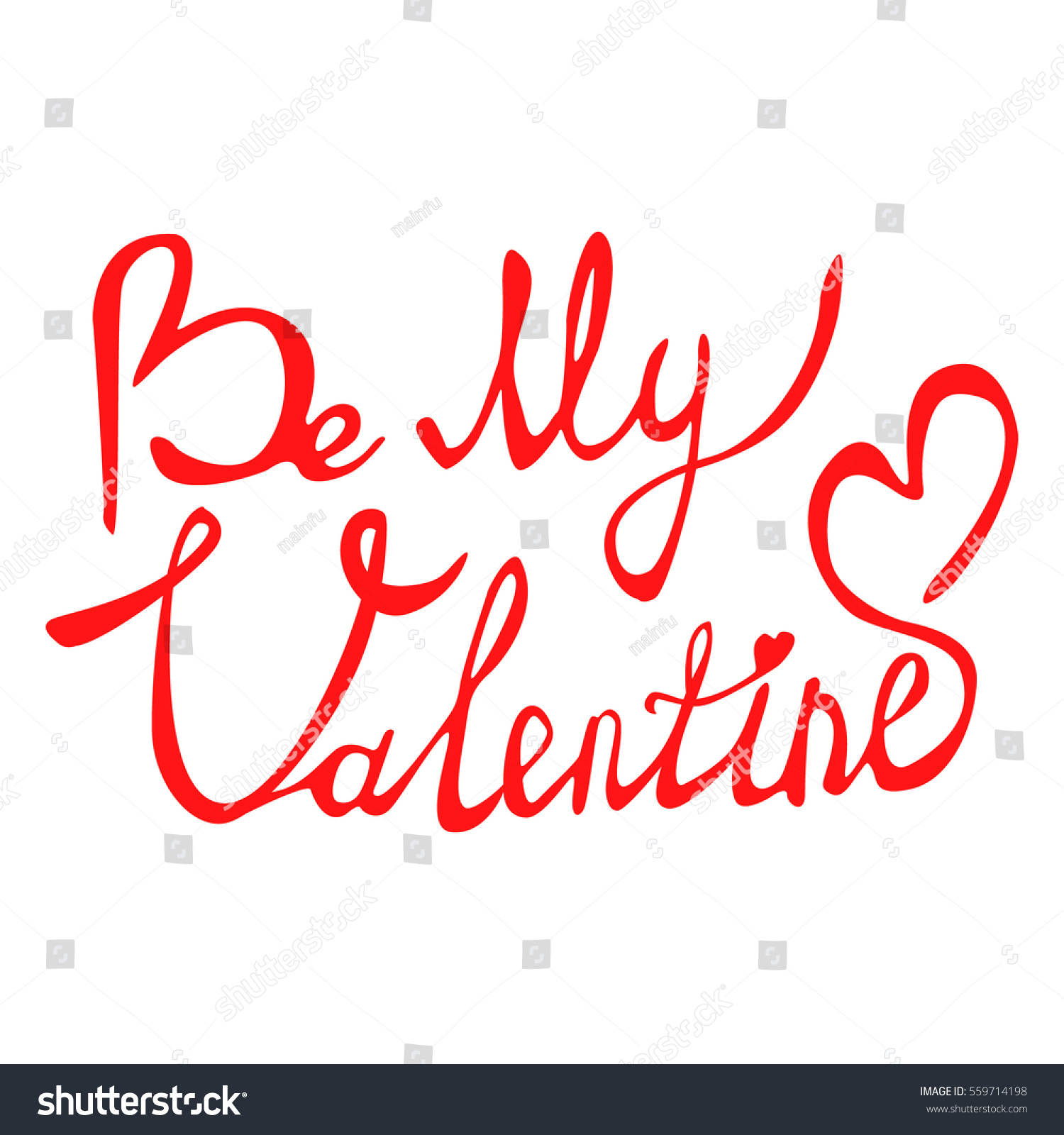 Be my valentine text greeting card stock vector 559714198 be my valentine text for greeting card vector holiday design on background kristyandbryce Choice Image
