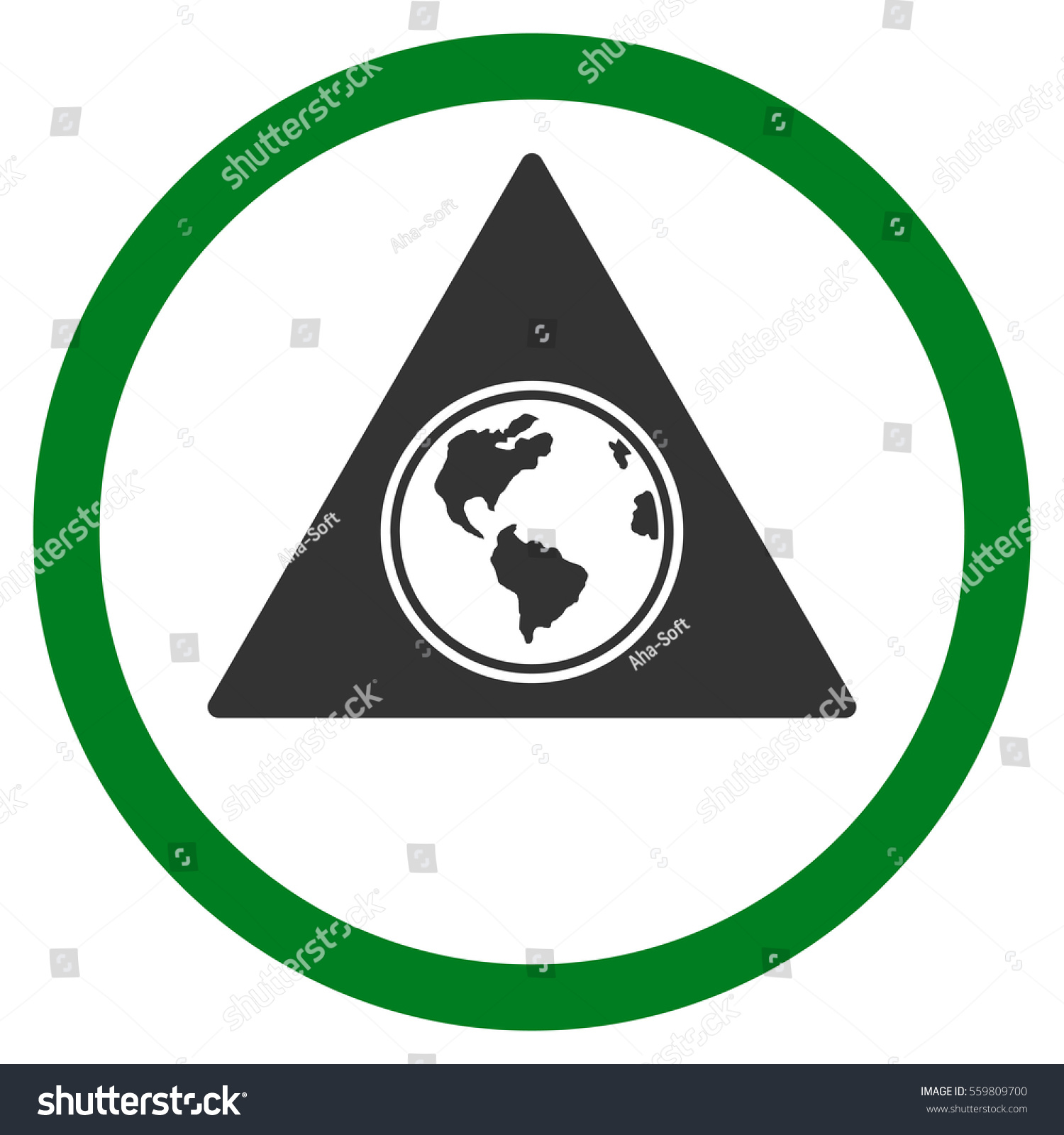 Terra triangle vector bicolor rounded icon stock vector 559809700 terra triangle vector bicolor rounded icon image style is a flat icon symbol inside a buycottarizona Image collections