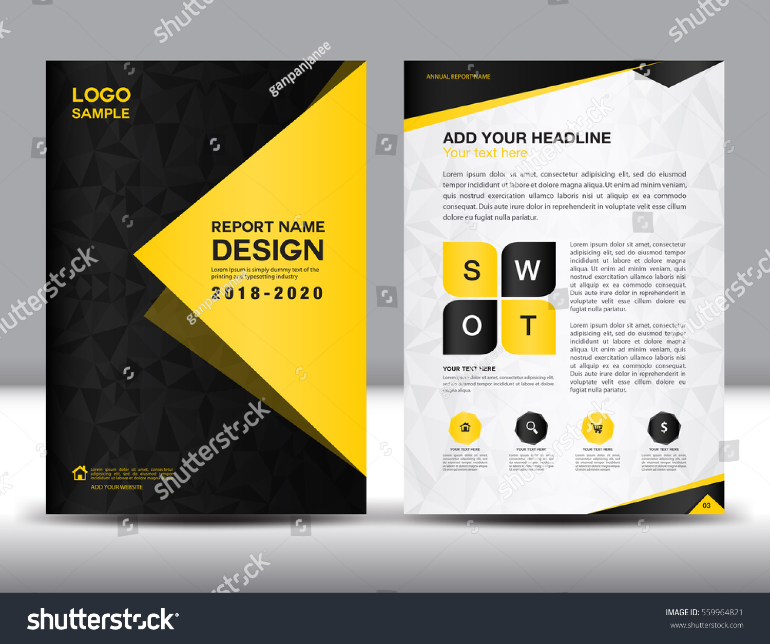 black and yellow roll up banner stand template flyer design business brochure flyer template in a4 size black and yellow cover design annual report