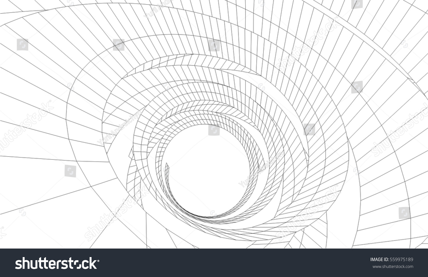 3d abstract architectural design - photo #22