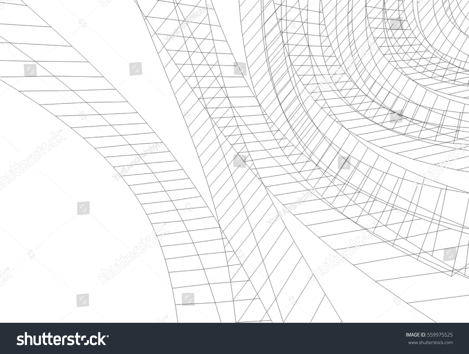 3d abstract architectural design - photo #14