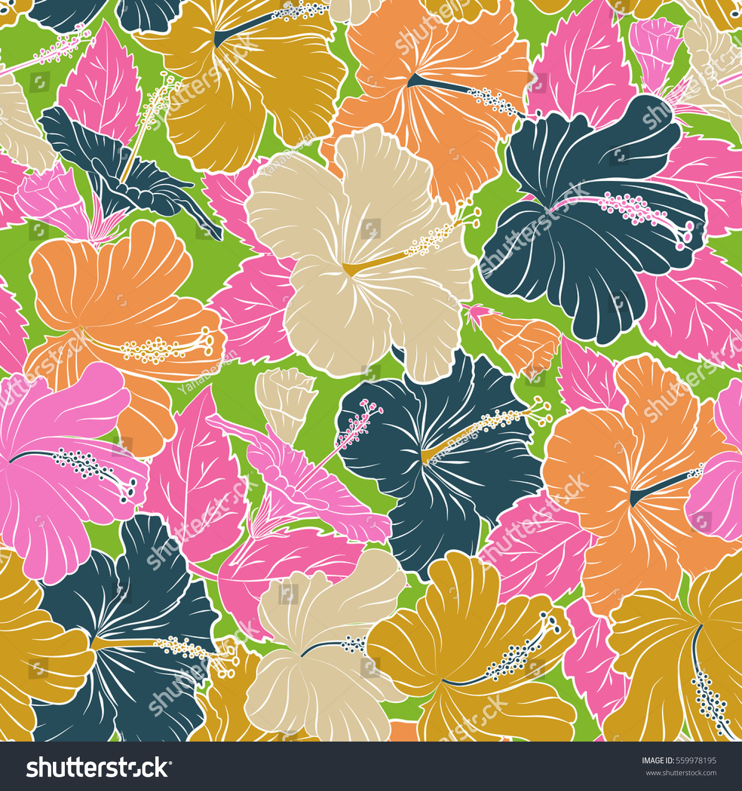 Royalty Free Stock Illustration Of Seamless Pattern Tropical