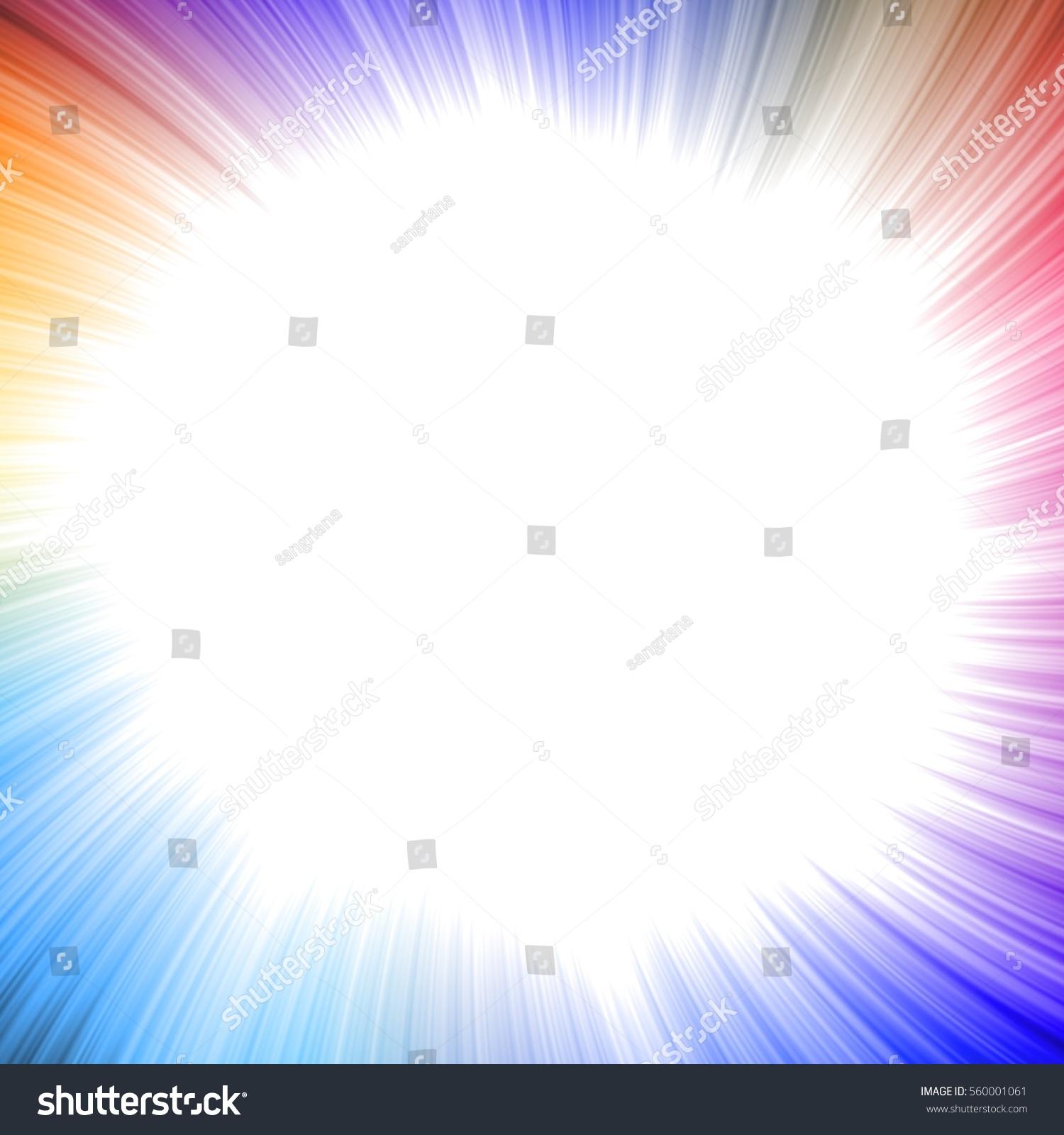 Blank Square Colorful Frame Frames Cool Stock Illustration 560001061 ...