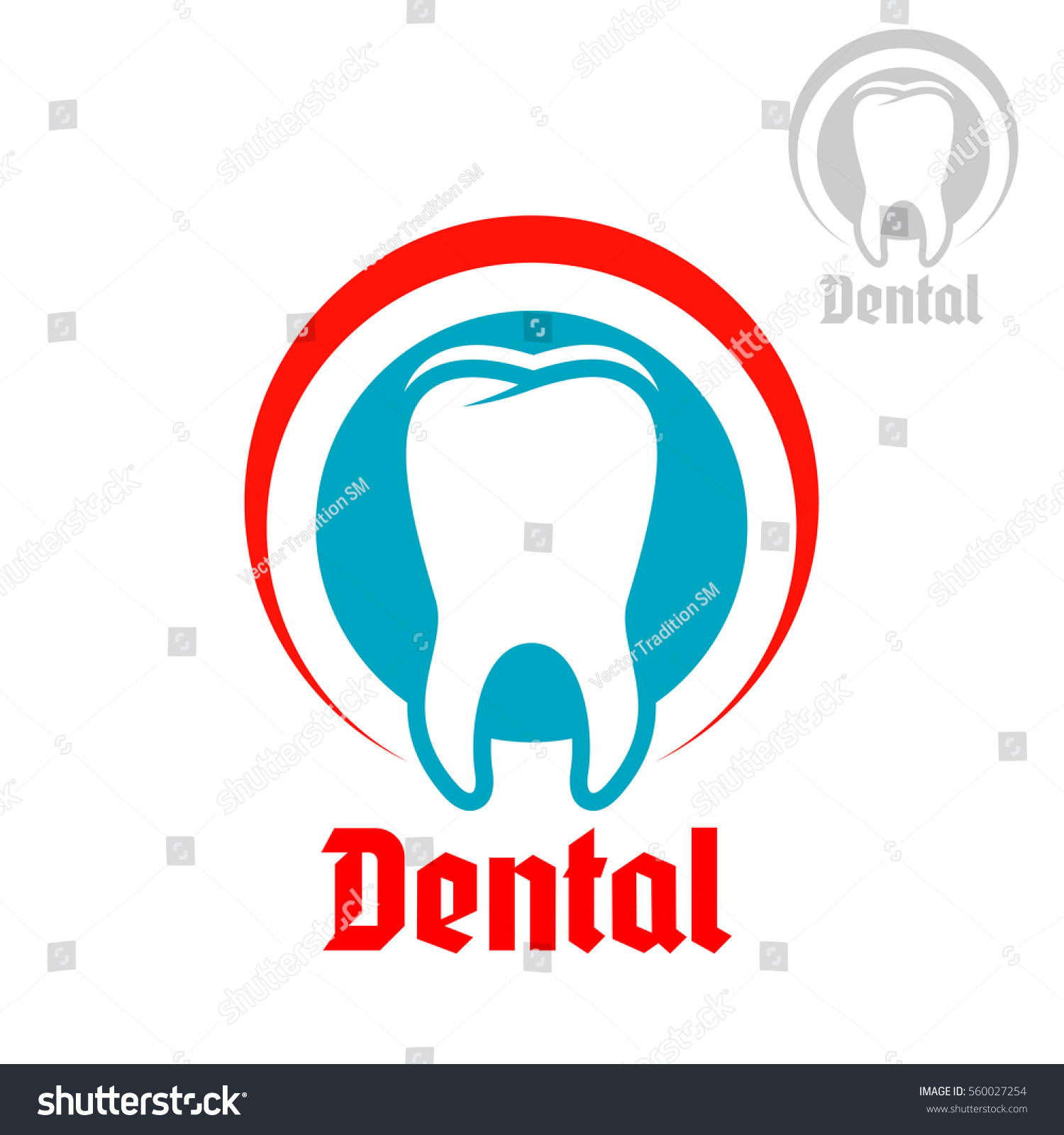 Dentistry Odontology Emblem Vector Badge Healthy Stock Vector ...