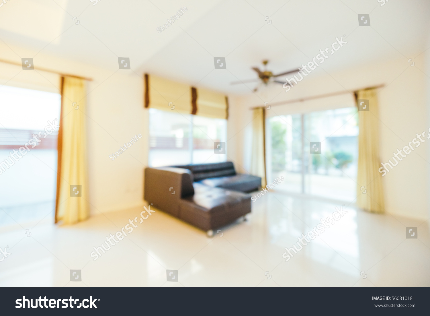 Blurred House abstract blur interior house living room stock photo 560310181