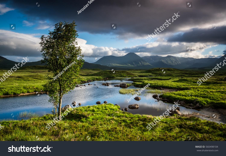 Great Moor Of Rannoch Scotland Highlands