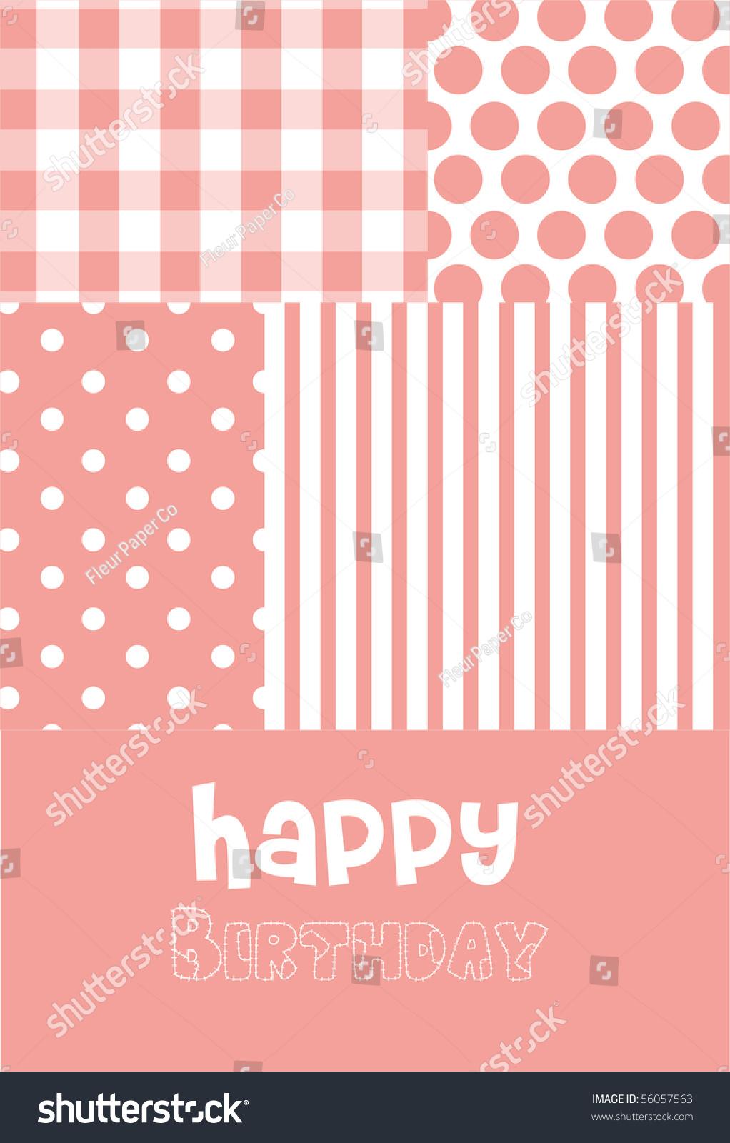 Baby girl birth announcement birthday greeting stock vector 56057563 baby girl birth announcement or birthday greeting card m4hsunfo