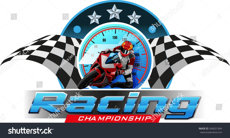 Logos Symbols Motor Racing Championship Events Stock Vector Royalty Free 560631964