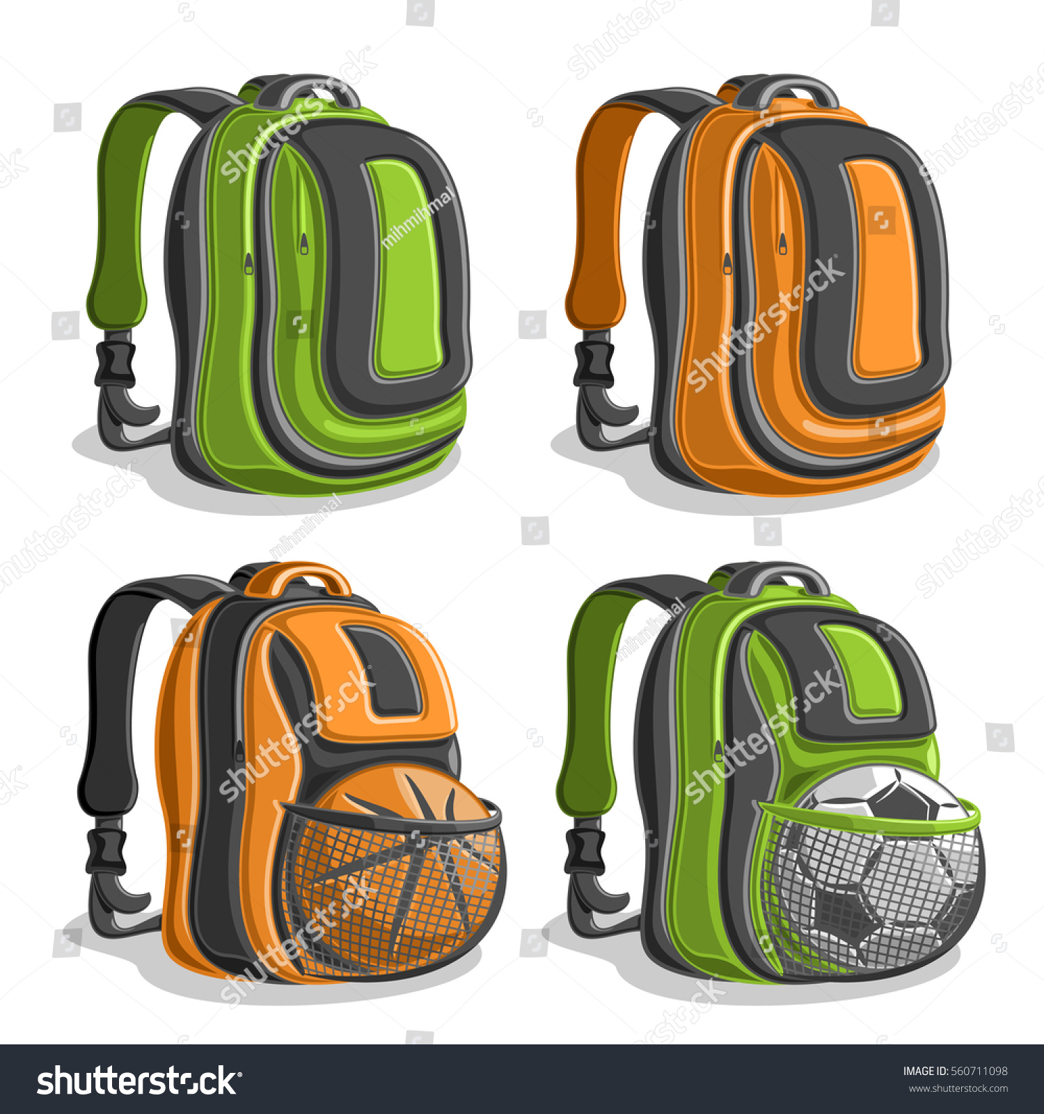 721d3504a281 Back To School Backpacks College- Fenix Toulouse Handball