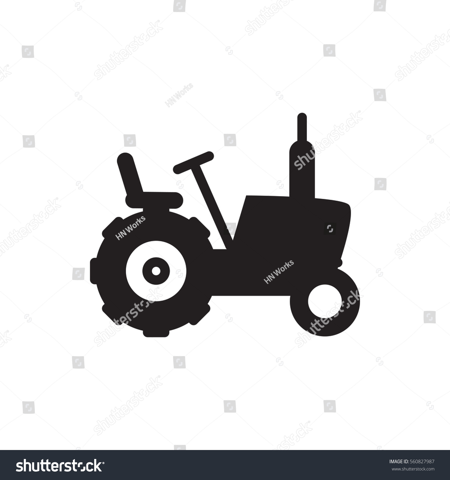 Tractor icon illustration isolated vector sign stock vector tractor icon illustration isolated vector sign symbol buycottarizona Gallery