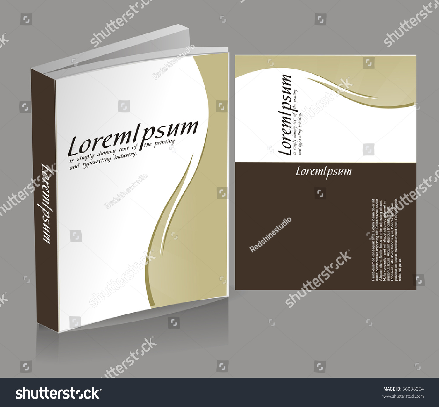 Book Cover Design Isolated Over Colorful Background : Book cover design isolated over colorful background 스톡 벡터