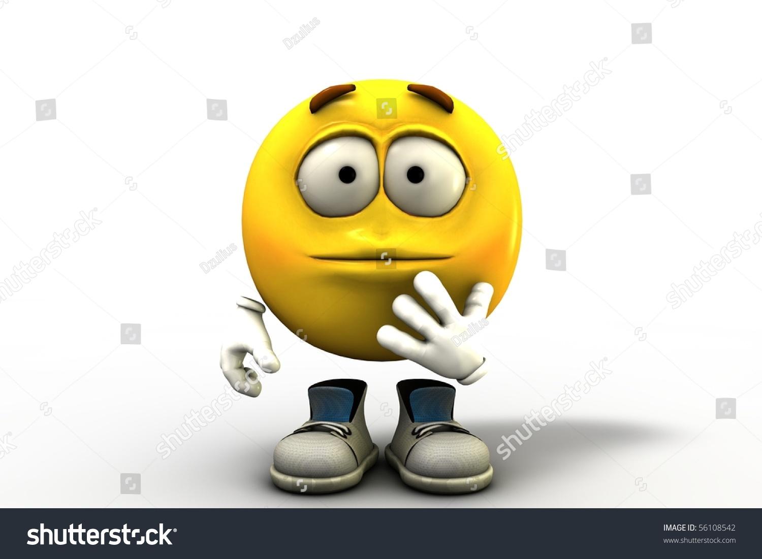 disappointed emoticon stock illustration 56108542