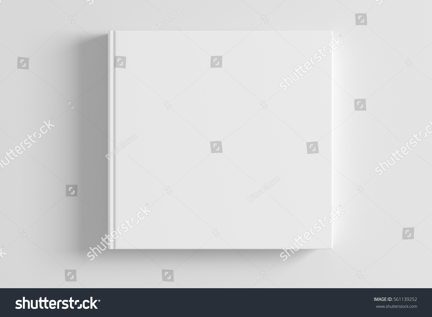 Book Cover White Background : Blank white book cover on stock illustration