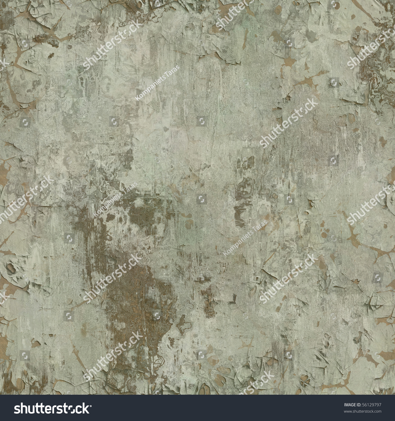 Wall paint texture seamless - Seamless Old Paint Peeling From Wall Texture Background