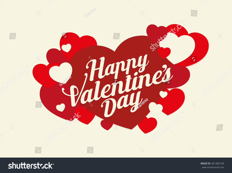 Valentines greetings design happy valentines day stock vector valentines greetings design with happy valentines day illustration kristyandbryce Images