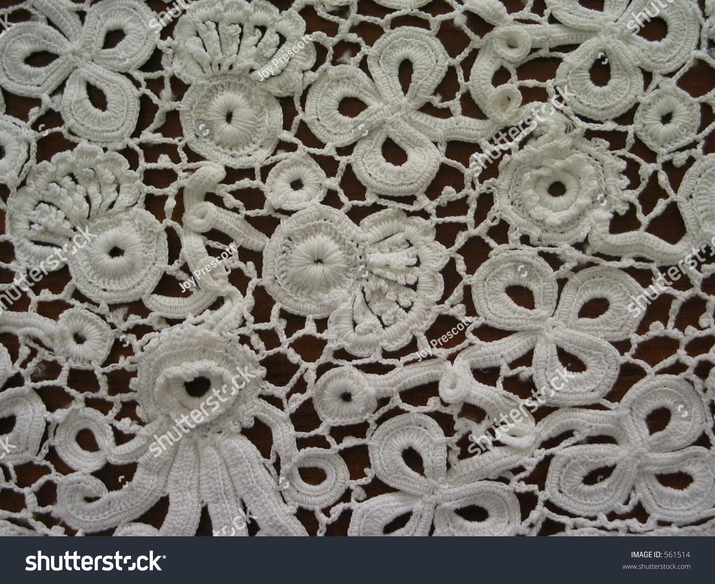 Irish Crochet Stock Photo Edit Now 561514 Shutterstock