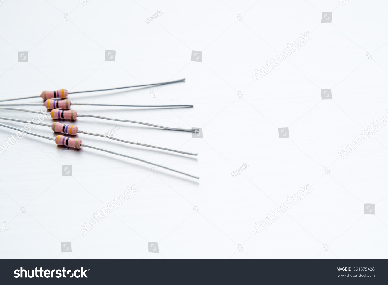 Resistor Passive Two Terminal Electrical Component Stock Photo Edit How To Reduce Voltage With Resistors For Resistance Current Flow And Lower