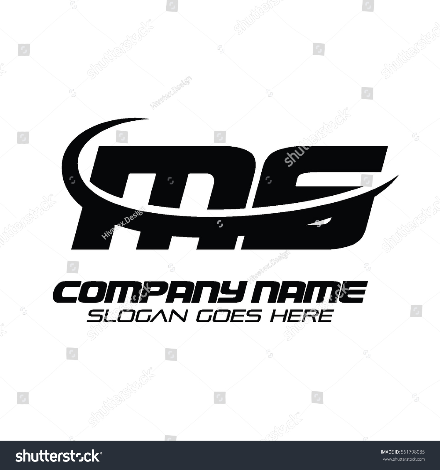 Ms Logo Stock Vector 561798085 - Shutterstock