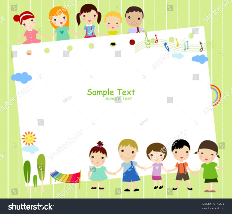 kids and framemusic - Music Picture Frame