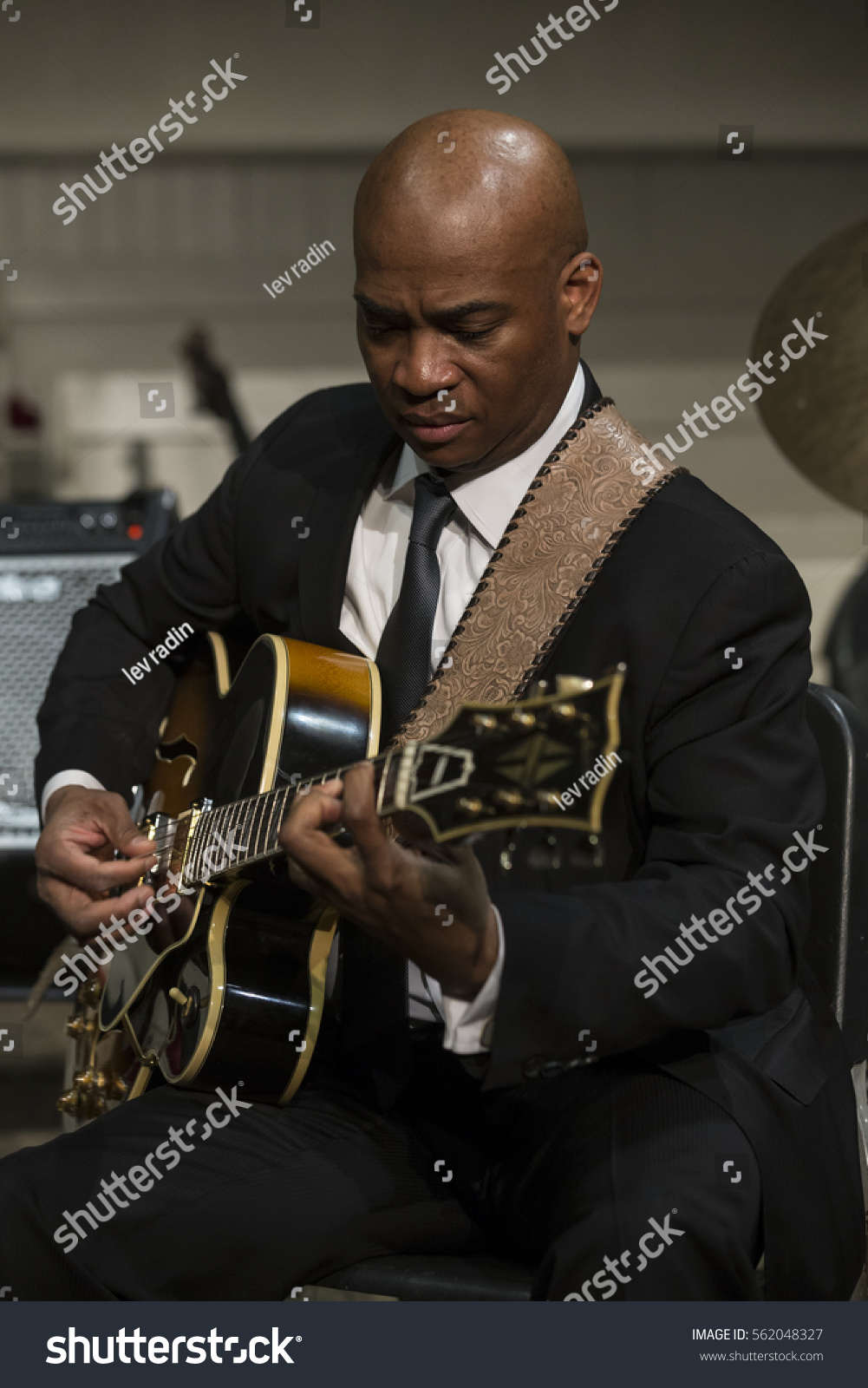 Ny usa january 5 2017 russell malone performs during jazz legends